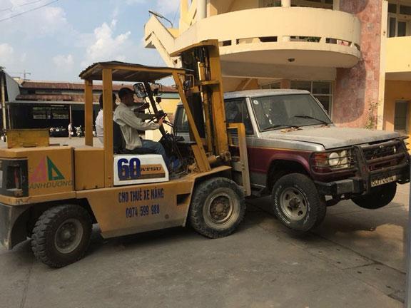 Cung cấp xe nâng cho thuê giá rẻ tại Hà Nội