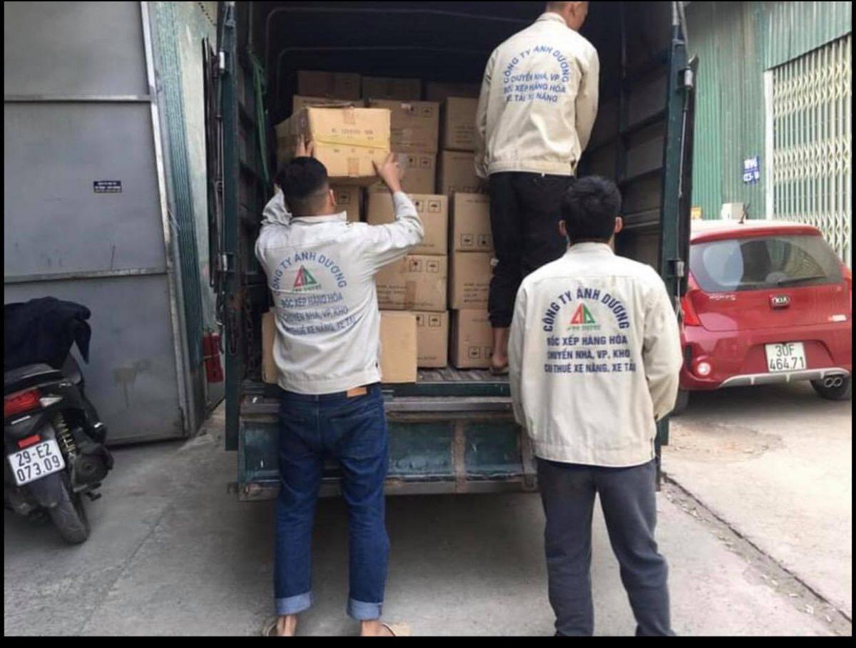 Dịch vụ chuyển nhà giá rẻ Trần Cung 0974.599.988