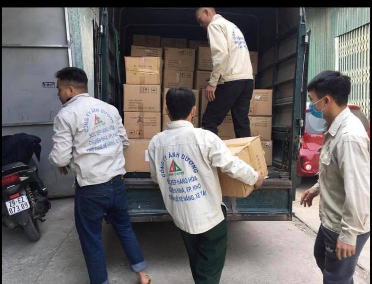 Dịch vụ chuyển nhà tại Nguyễn Khánh Toàn 0974.599.988